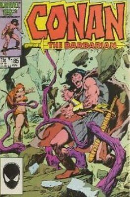 Conan the Barbarian (Vol 1) # 185 Near Mint (NM) Marvel Comics MODERN AGE