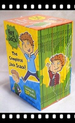 Hey Jack The Complete Jack Stack 20 Books Box Set by Sally Rippin Brand New