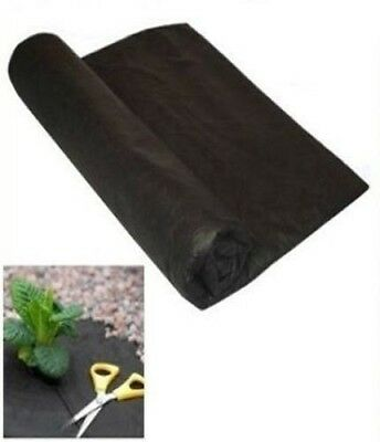 2x Large Big Weed Control Fabric Membrane Ground Sheet Cover Garden 8m x 1.5m