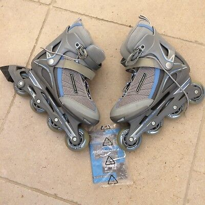 Nearly New Women's Geo IIIw Rollerblade In-line Skates (UK size 7)