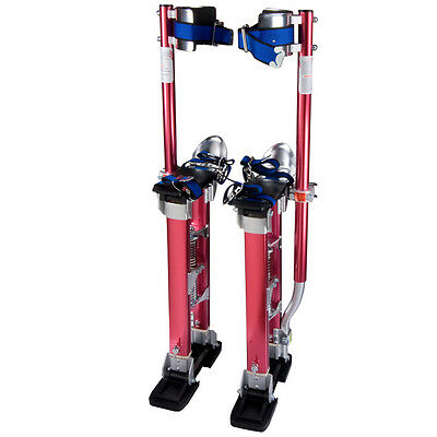 "Drywall Painters Walking Stilts Taping Finishing Tools Adjustable 24"" - 40"" a1"