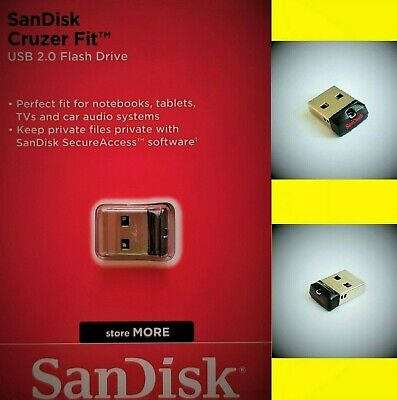 Sandisk Cruzer Fit USB Stick 8GB 16GB 32GB 64GB USB Flash Drive mini USB Stick