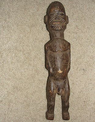 AFRICAN HEMBA TRIBAL IBO STATUE Sculpture Lobi Bateba Burkina Faso ANTIQUE ART
