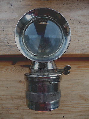 Early 20th century American Solar acetylene bicycle lamp