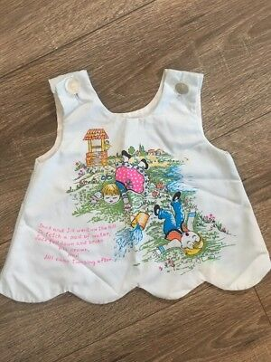 Vintage 70s Holiday Sportswear Of Miami Jack And Jill Dress Baby Girl