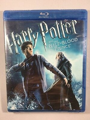 Harry Potter And The Half Blood Prince Blu-Ray, NEW/SEALED! Ships FREE!