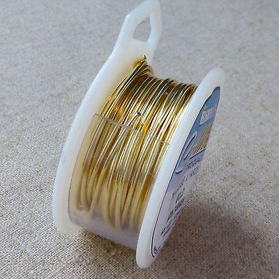 Craft Wire 18gauge (1.02mm) Gold Plated Beadsmith Pro Quality Non Tarnish