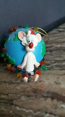 Warner Bros. 1998 Pinky And The Brain Ornament