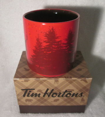 TIM HORTONS 2017 CHRISTMAS LTD Ed COFFEE MUG  BROWN GOOSE WITH BOX NEW