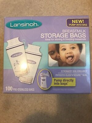 Lansinoh Breastmilk Storage Bags 95 Count BPA Free and BPS Free