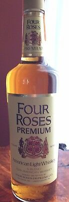1972 Four Roses Premium American Light Whiskey unopened holiday edition fifth
