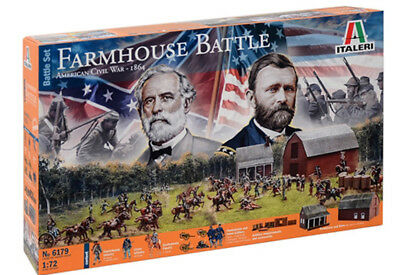 Italeri 6179 American Civil War Farmhouse battle M1:72 Bausatz