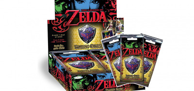 The Legend of Zelda Trading Cards Complete Box - 24 Packs!