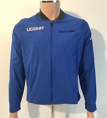 83bee62375d0c NEW UCONN Connecticut Huskies Nike Women's Basketball Jacket Medium Team  Issued