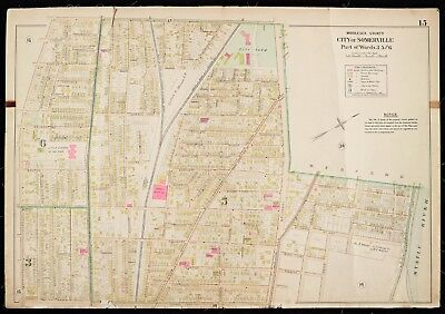 1900 Middlesex County, Ma, Somerville, Little Sisters Of The Poor Copy Atlas Map