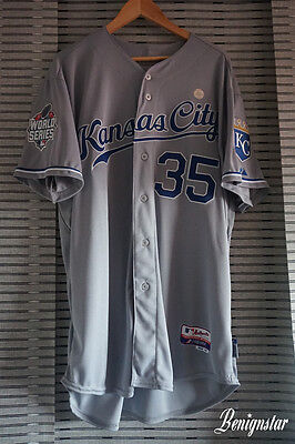Eric Hosmer Kansas City Royals World Series 2015 Road Baseball jersey