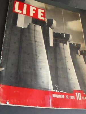 Very FIRST Issue of LIFE Magazine - November 23 - 1936