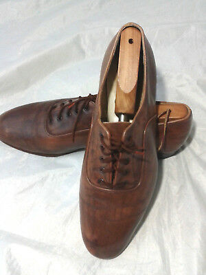Freed of London Mens Leather Ballroom Dance Shoes Hand Crafted 11M
