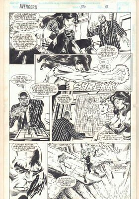 Avengers #370 p.13 - Sersi - 1994 art by Geof Isherwood & Al Milgrom