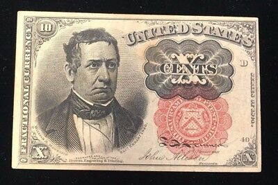 Fifth Issue 10 Cent Fractional