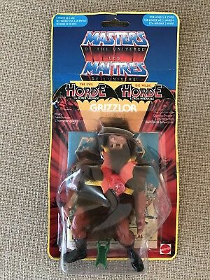 Motu Masters of the Universe Grizzlor Euro Karte Moc Yb Yellow Border France