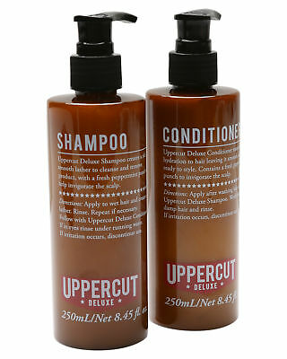 New Uppercut Men's Shampoo And Conditioner Pack Pu