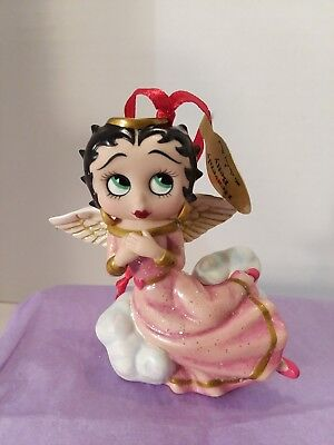 "Betty Boop ""Heavenly Betty"" Christmas Ornament Danbury Mint"