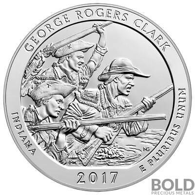 2017 Silver 5 oz ATB George Rogers Clark, Indiana