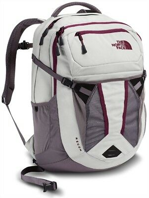The North Face Womens Recon Laptop Backpack - Vaporous Grey Light Heather