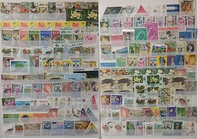 Malaysia stamps from Old Album Used