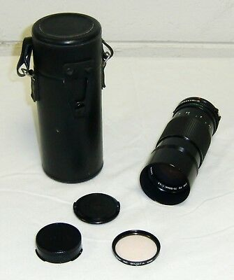 CANON FD 70-150mm ZOOM f/4.5 Camera Manual Lens Japan