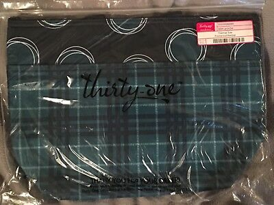 NEW Thirty One Gifts Thermal Tote La Di Dot Totally Tartan