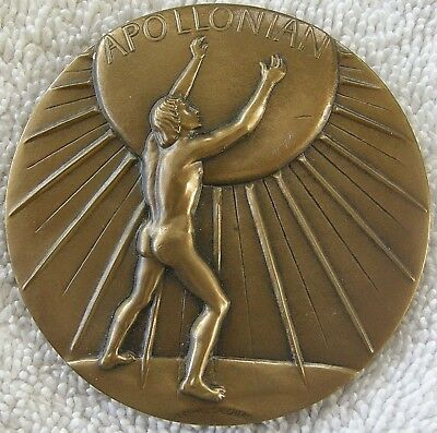 Apollonian and Dionysian Medal, 1976 by Marshall Daugherty