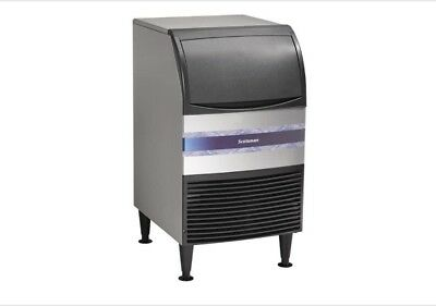 Stainless Steel Commercial Undercounter Ice Maker Machine Air Cooled Cube 110W