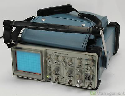 Tektronix 2235A 100Mhz 2 Channel Analog Oscilloscope with probes/manual.