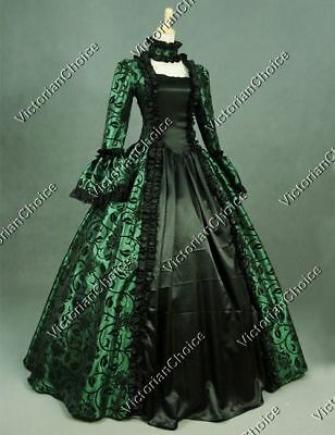 Renaissance Victorian Dickens Christmas Caroler Dress Theater Clothing 119 XXL