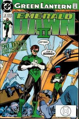 Green Lantern: Emerald Dawn II #2 in Near Mint - condition. FREE bag/board