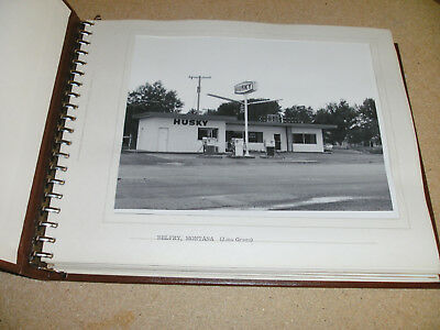 HUSKY OIL COMPANY GAS STATIONS PHOTOS from 1967