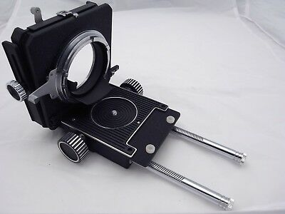 Bronica bellows type II, rare, can be used as tilt, shift, rise with normal lens