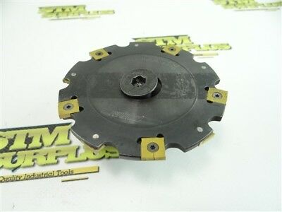 """Carboloy Indexable Milling Cutter 1/4"""" X 4"""" Model R335.19-04.0003B.2"""