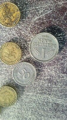 lot of (16) german coins