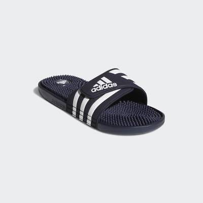 f326a7e7cbb64 Mens Adidas Adissage Navy Slides Shower Athletic Sport Sandals 078261 Sizes  7-13