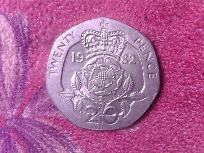 Great Britain   20 Pence  1982  Fr