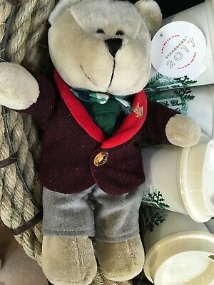 Starbucks Bearista Bear Christmas Collection 2017 NEW