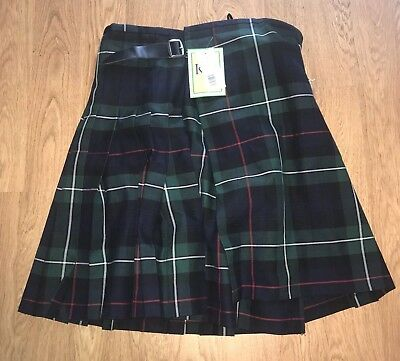 Gent's 5 Yard Quality Mackenzie Scottish Party Kilt Size 34-36