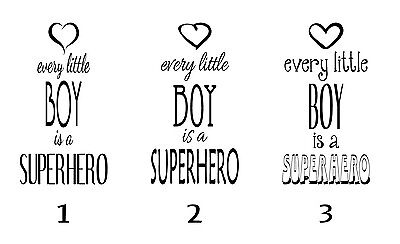 So Adorable - Wall Decal For Little Boys Room