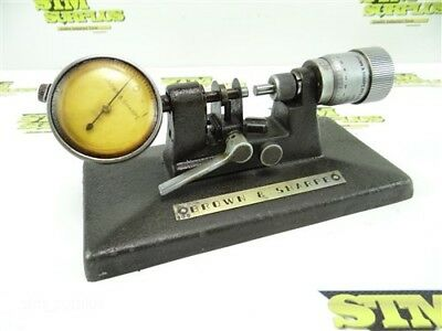 """Brown And Sharpe Precision Bench Micrometer .0001"""" Model 245"""