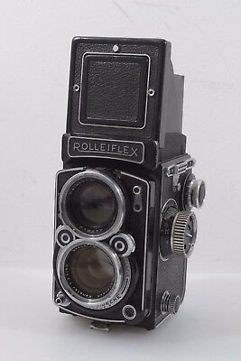 ROLLEIFLEX TLR w/XENOTAR 80mm F2.8 LENS MODEL K7C, TESTED, GOOD, *READ DETAILS