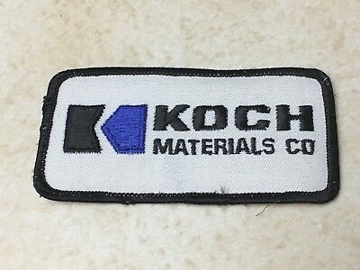 KOCH Materials Company Logo Patch Stitched