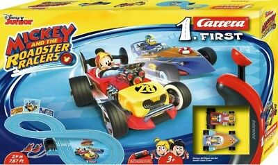 NEW Carrera 1St Mickey Roadster Racers Slot Set, Battery Operated from Mr Toys